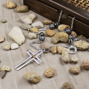 кръст с обсидиан